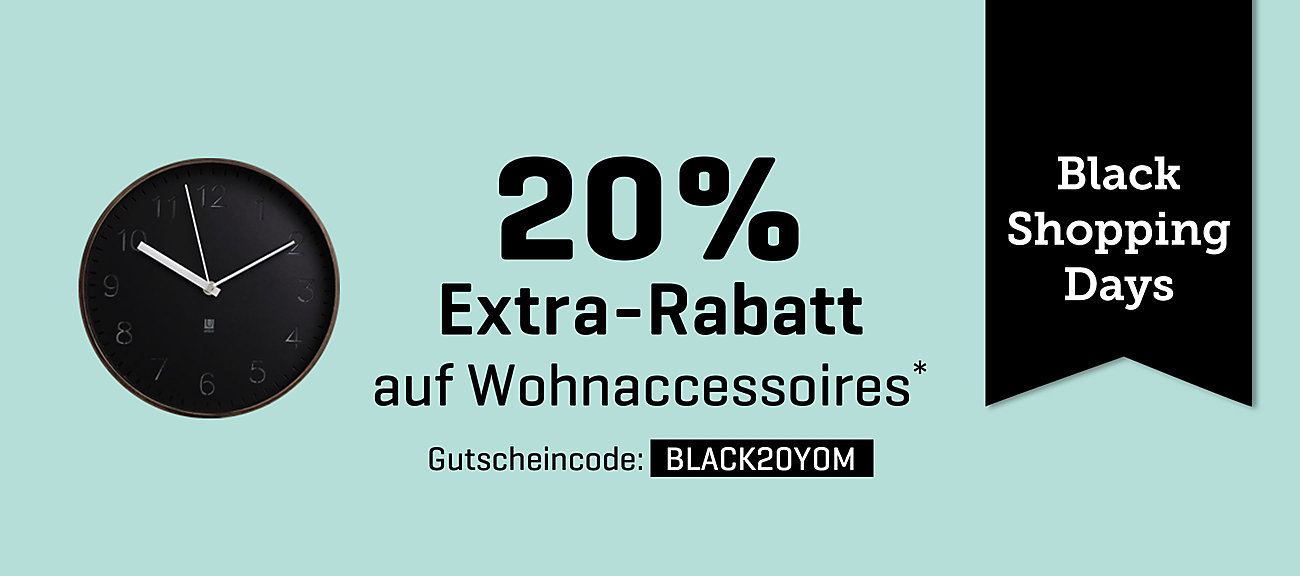 wohnaccessoires g nstig online kaufen yomonda. Black Bedroom Furniture Sets. Home Design Ideas