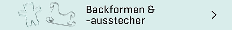 Backformen & -ausstecher